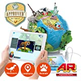 Oregon Scientific Smart Globe Adventure SG268R - Interactive SmartGlobe with Smart Pen and 3D Augmented Reality | STEM Approved
