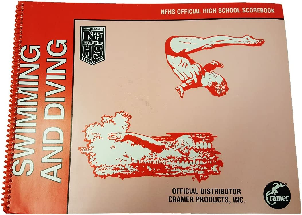 All Sports Contain Season Log for Compiling Statistics Official High School Scorebook for the NFSHSA Features a Full Season of Games or Matches Cramer NFSHSA Scorebook Spiral Bound Scorebook