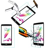 Acm Tempered Glass Screenguard For Lg G4 Stylus Mobile Screen Guard Scratch Protector