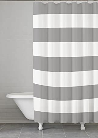 Kassatex Fine Linens HMS 115 G Hampton Stripe Shower Curtain