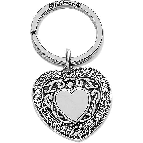 Amazon.com: Brighton Medaille - Llavero con forma de corazón ...