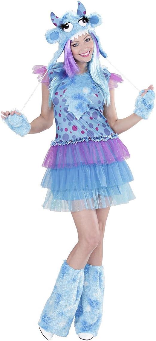 WIDMANN 01701 ? Disfraz para Adultos Chica Monstruo, Vestido ...