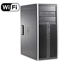 HP Elite 8300 Premium High Performance Business MiniTower Desktop PC, Intel Quad-Core i5-3470 up to 3.6GHz, 8GB DDR3, 120GB SSD + 500GB HDD, DVD, WIFI, Windows 10 Professional (Renewed)