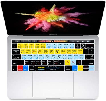 "Hot Silicone Laptop Keyboard Cover Skin for Macbook Pro 13//15/"" with Touch Bar"