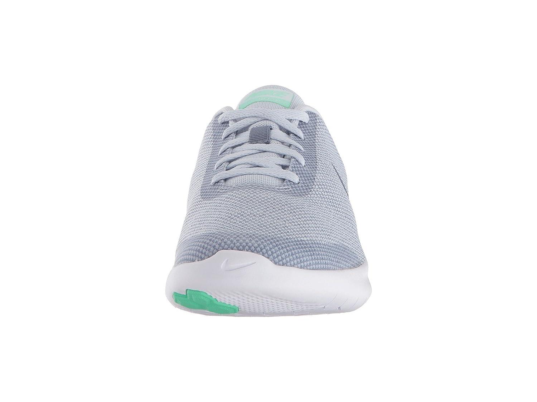 NIKE Women's Flex Experience 7 Running Shoe B078JP34ZW 8.5 M US|Football Grey/Ashen Slate/Green Glow
