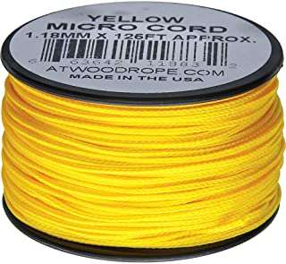 product image for Atwood Rope MFG Micro Cord 125ft Yellow
