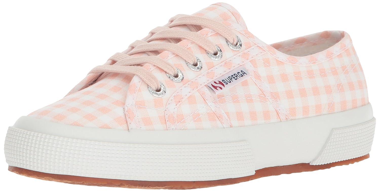 Superga Women's 2750 Gingham Sneaker B0777T1G3Z 37 M EU (6.5 US)|Pink