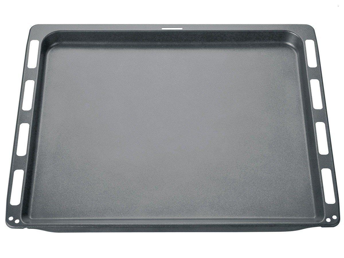 Bosch HEZ331072 Backofen- und Herdzubehör/Emailliertes Backblech für Kuchen, Plätzchen, Brot, Brötchen, Hefezopf und Stollen Plätzchen Brötchen