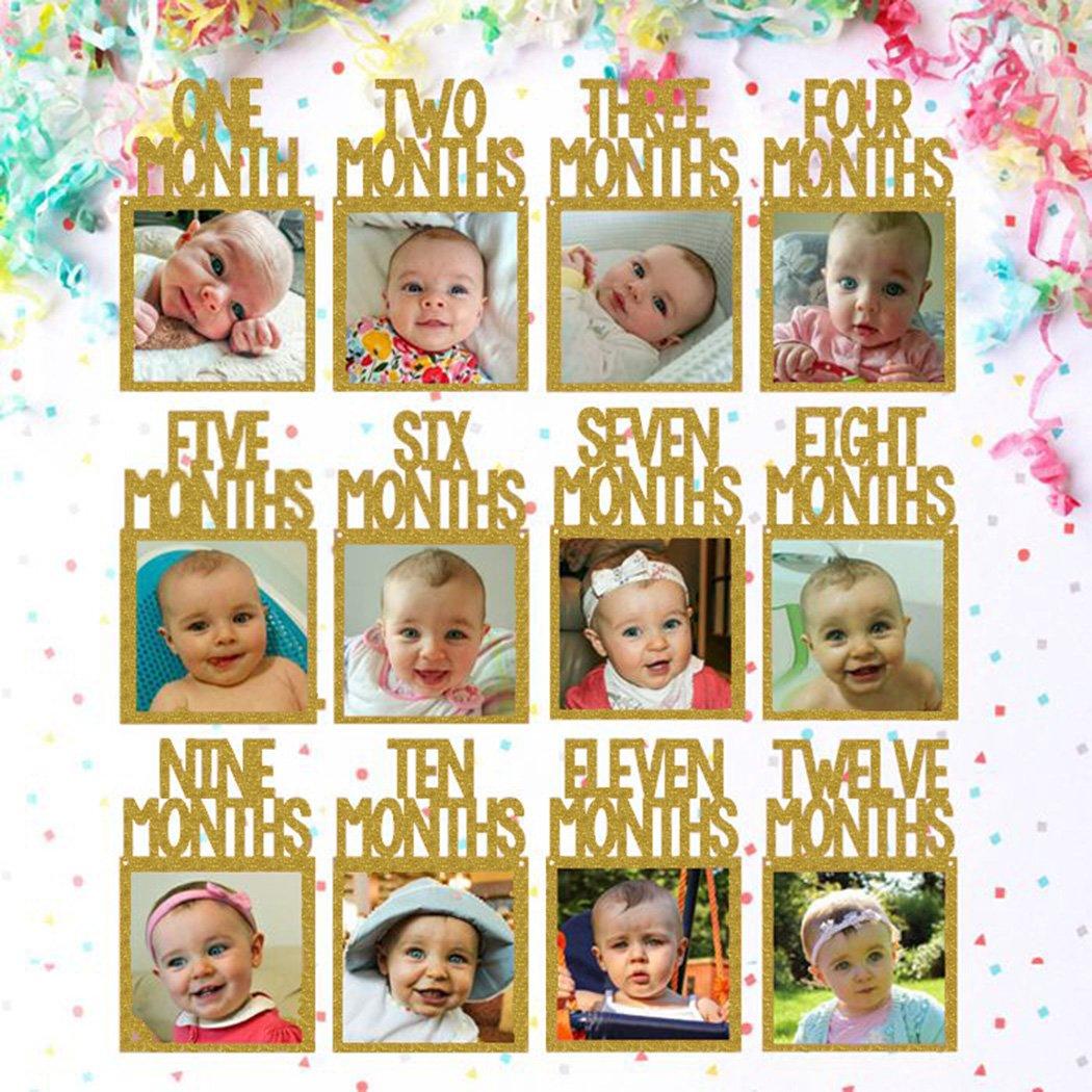 Amazoncom Jefferson 1st Birthday Newborn To 12 Months Photo Banner