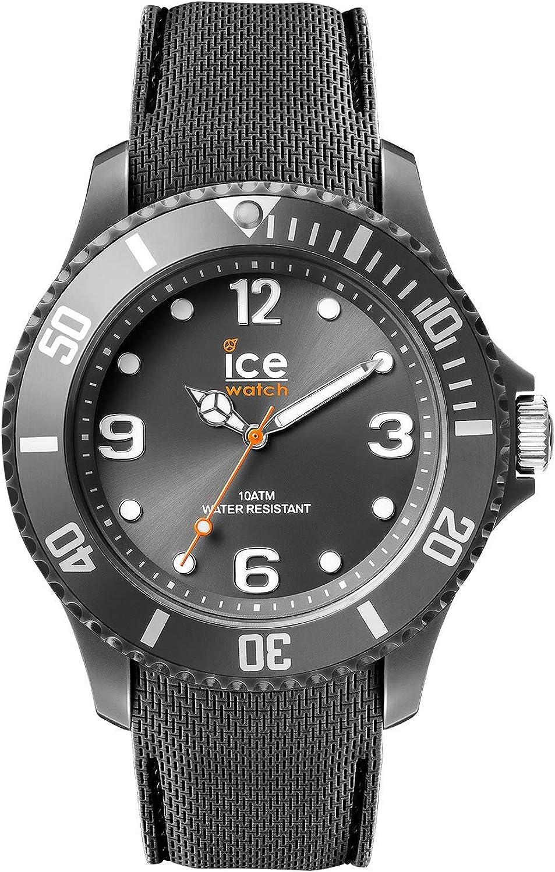 Ice-Watch - Ice Sixty Nine Anthracite - Reloj Gris para Hombre con Correa de Silicone