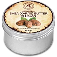 Shea Butter Cold Pressed 400g - Unrefined African Shea Butter - Ghana - 100% Pure & Natural - Best for Hair - Skin - Lip…