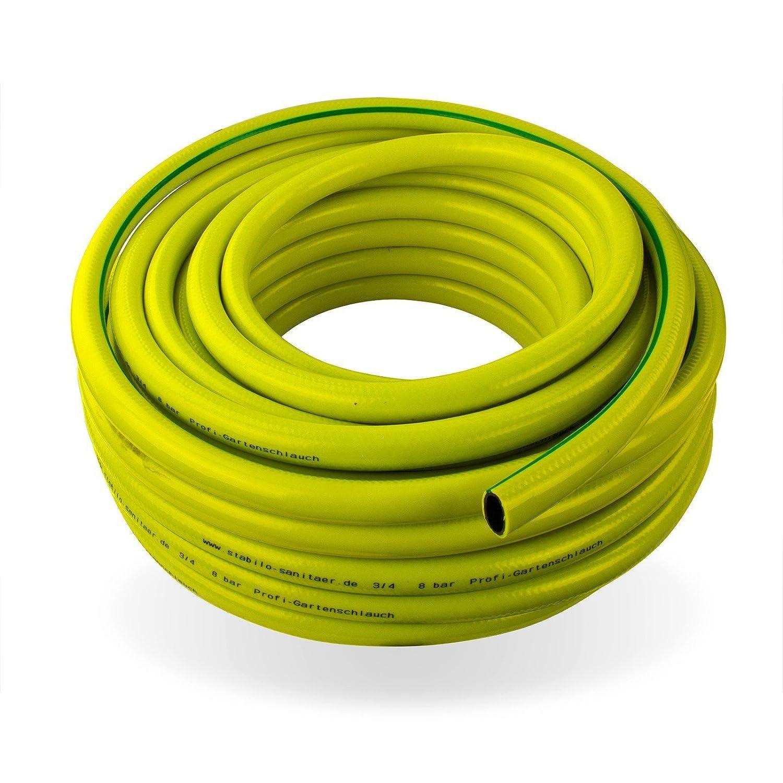 Stabilo-Sanitaer Profi Gartenschlauch 1 1/2 Zoll 40 mm 10 m 3-lagig Wasserschlauch Qualitätsschlauch Gewebeschlauch Allzweckschlauch Schlauch