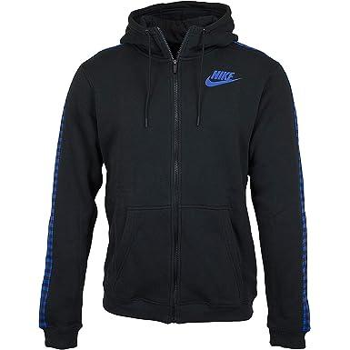 Nike - Sudadera con Capucha - para Hombre Black/Royal S