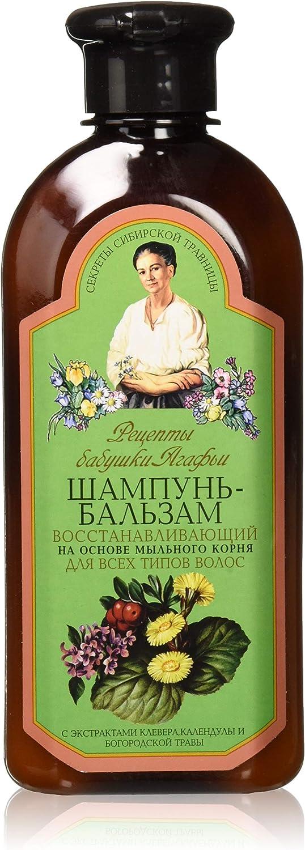 Recipes grandma agafia - Grandma agafia recetas reparación 2en 1shampoo-conditioner para todos tipo de cabello 350ml