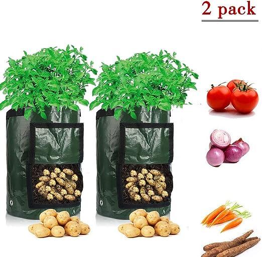 AWANGQAING - Bolsas de Cultivo de Patatas para Plantar Semillas de ...