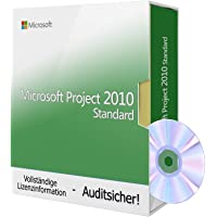 Microsoft Project 2010 Standard, Tralion-DVD. 32&64 bit. Deutsch Audit Sicher Zertifikat [dvd_rom] …