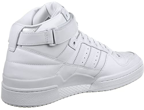 reputable site b8fb0 5d200 ... switzerland adidas mens forum mid refined sneakers white size 4 uk  3f3d7 db874