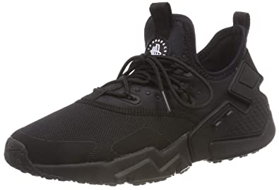 d681077e7381 Nike Mens Air Huarache Drift Running Shoes Black White AH7334-003 Size 8