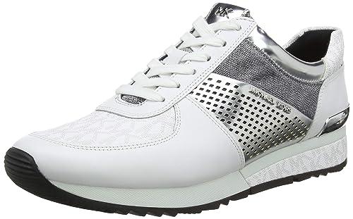 Michael Kors Mkors Allie Wrap Trainer, Zapatillas para Mujer: Amazon.es: Zapatos y complementos