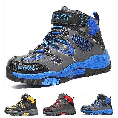 Boots Boys Winter Snow Sneakers Girls Hiking Trekking Climbing Outdoor Shoes  Big Little Kids Waterproof Non 8578e923c0d9