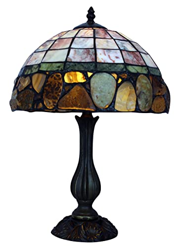 Prime Jade Stone Tiffany Style Handmade Stained Glass 12 Table Best Image Libraries Sapebelowcountryjoecom