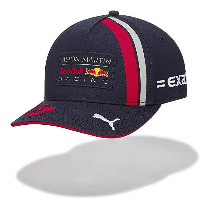 Red Bull Racing MAX Verstappen Driver Gorra, Azul Unisexo Talla única Cap, Racing Aston Martin Formula 1 Team Original Ropa & Accesorios