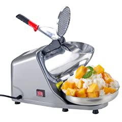 Koval Inc. Heavy Duty Stainless Steel Electric Shaved Ice Machine