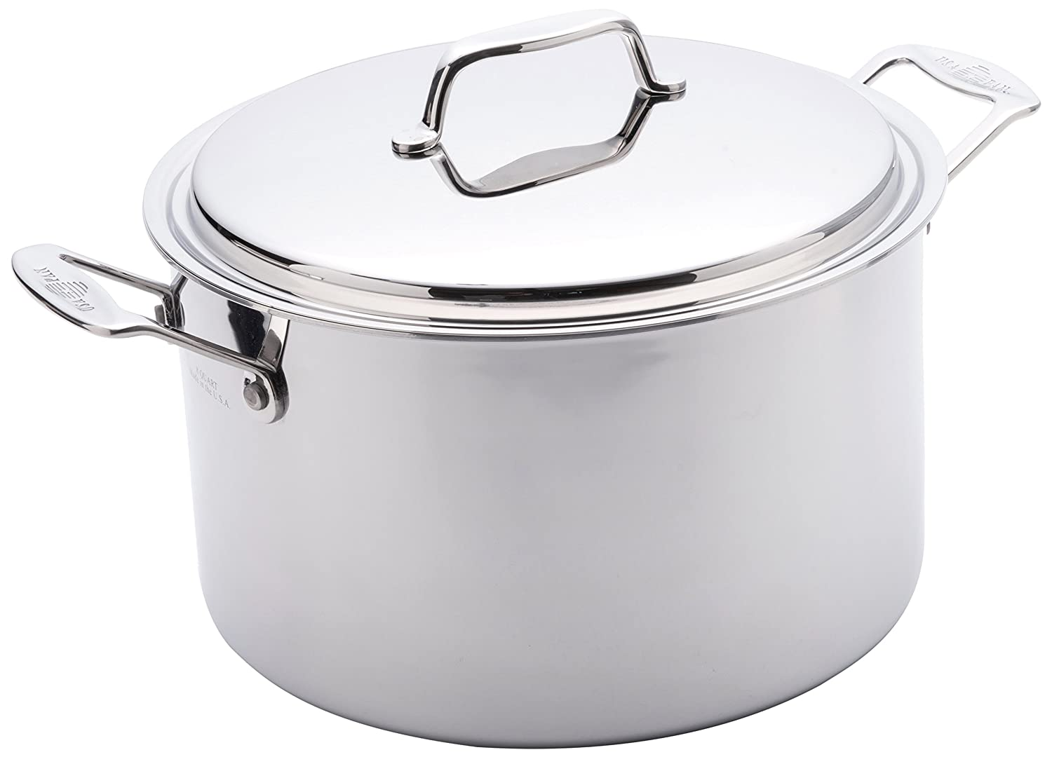 Amazon USA Pan 1520CW 1 Cookware 5 Ply Stainless Steel 8 Quart