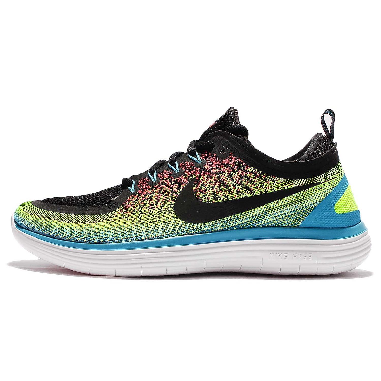 (ナイキ) フリー RN ディスタンス 2 マルチカラー メンズ Nike Free RN Distance 2 ランニング シューズ 863775-701 [並行輸入品] B06XPD371B 27.5 cm VOLT/BLACK-HOT PUNCH-CHLORINE BLUE