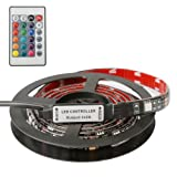 Amazon Price History for:led strip lights, Waterproof Blacklight Strip with Flexible LED Color Changing for TV Background