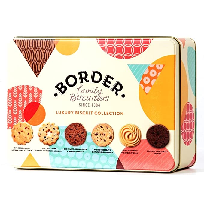 Border Biscuits, Surtido de Galletas Luxury Biscuit Collection Tin - 500 gr.