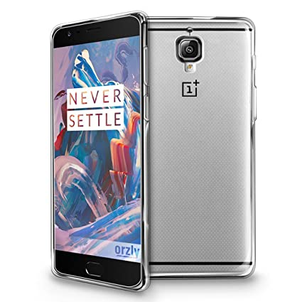 sale retailer 43f62 823b1 Foso Back Cover for OnePlus 3 and 3T (Transparent)