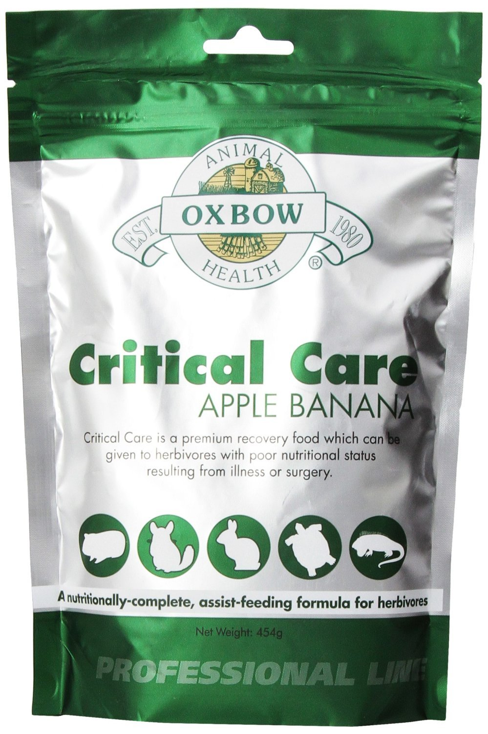 Oxbow Critical Care Apple/Banana Pet Supplement, 1-Pound by Oxbow
