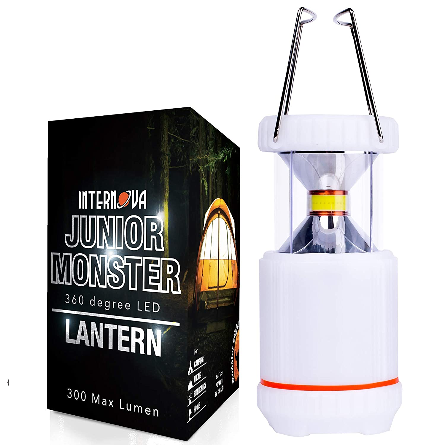 Amazon.com: Internova Junior Monster - Farol de camping ...