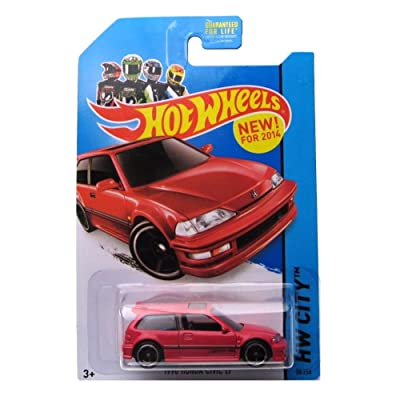 2014 Hot Wheels Hw City 30/250 - 1990 Honda Civic EF: Toys & Games