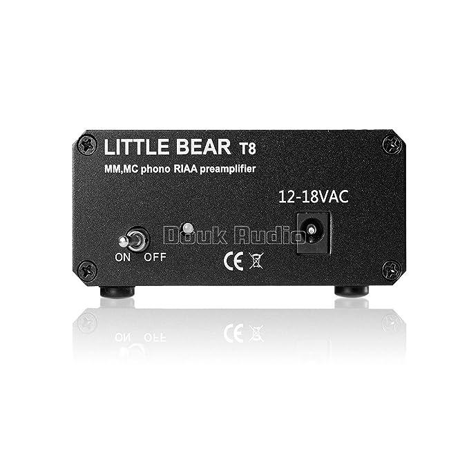 Amazon.com: nobsound® Pequeño oso T8 Turntable mm MC Phono ...
