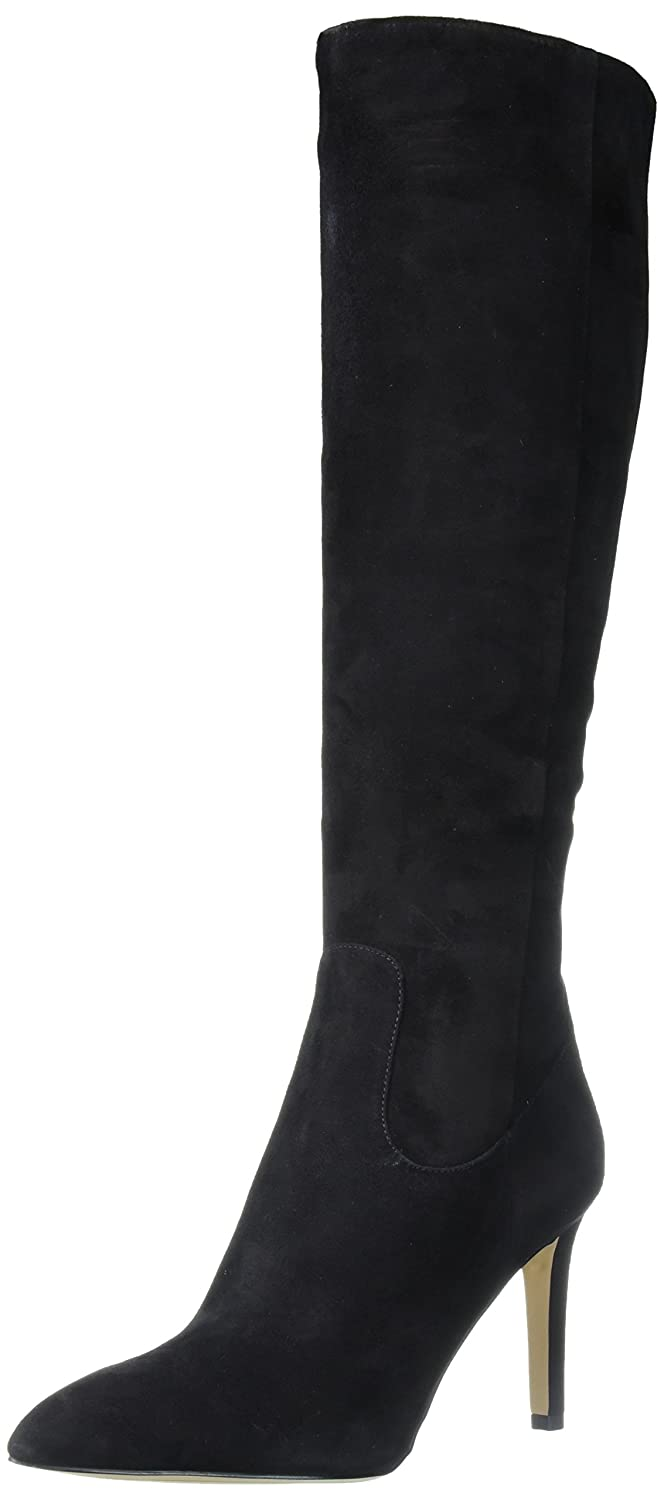 Sam Edelman Women's Olencia Knee High Boot B06XJL7WT4 6.5 B(M) US|Black Suede