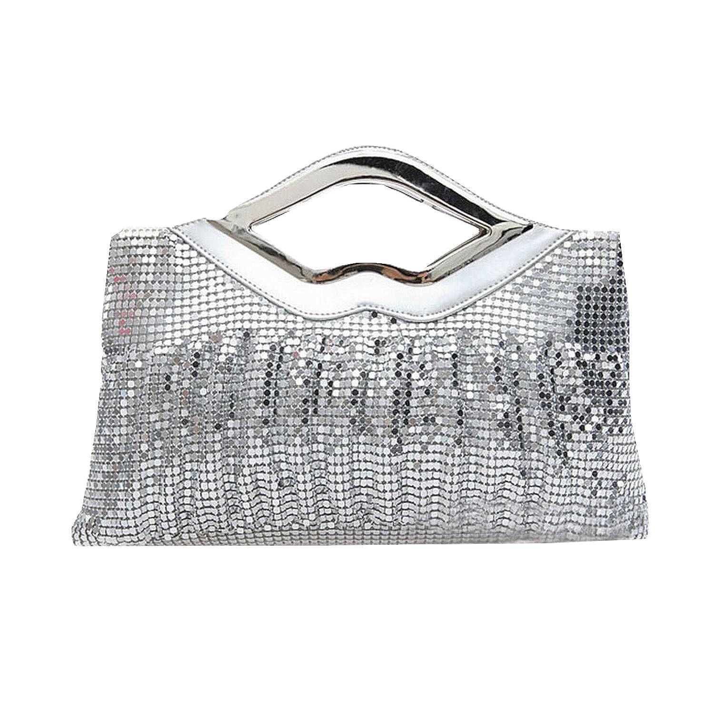 Focusbag New Style European Aluminum Sequined Women Handbag