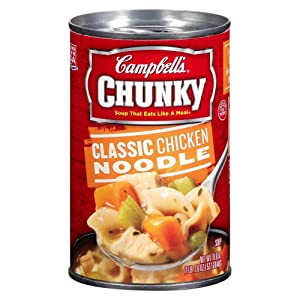 Campbell's Chunky Classic Chicken Noodle Soup (Pack of 8)