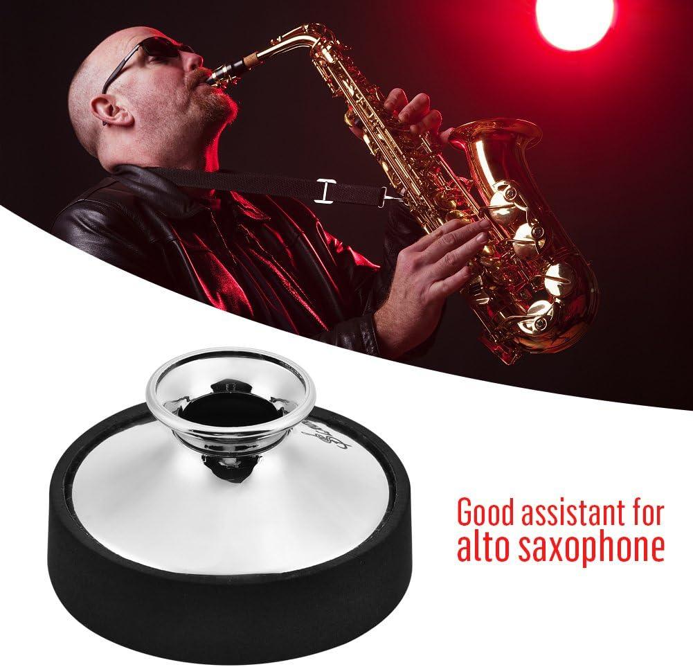 Alto Sax Mute Sax Practice Silencer Sax Sound Mute Dampener Instrumento Musical Parte