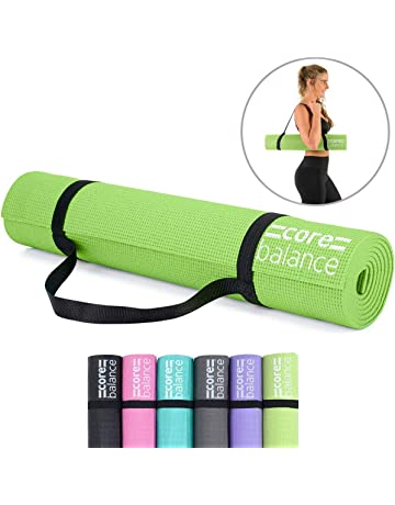 1fa5b358410 Core Balance Foam Yoga Exercise Mat, Non-Slip, 6mm Thick, Home Gym