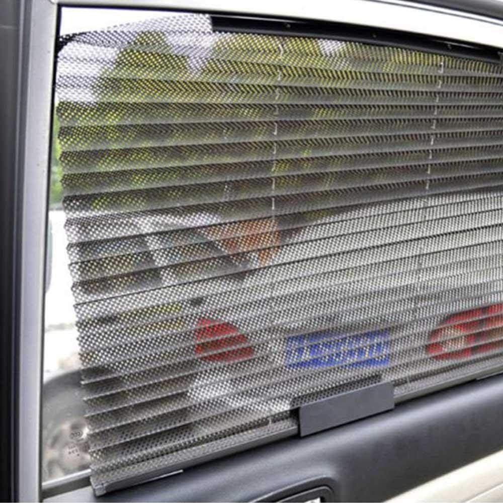 universelle atmungsaktive Auto-Erweiterung Auto-Seitenfenster-Vorh/änge mit Haken f/ür UV-Schutz einziehbar TEEPAO Auto-Sonnenschutz SUV Sichtbares Visier sch/ützt Ihr Baby und /ältere beige