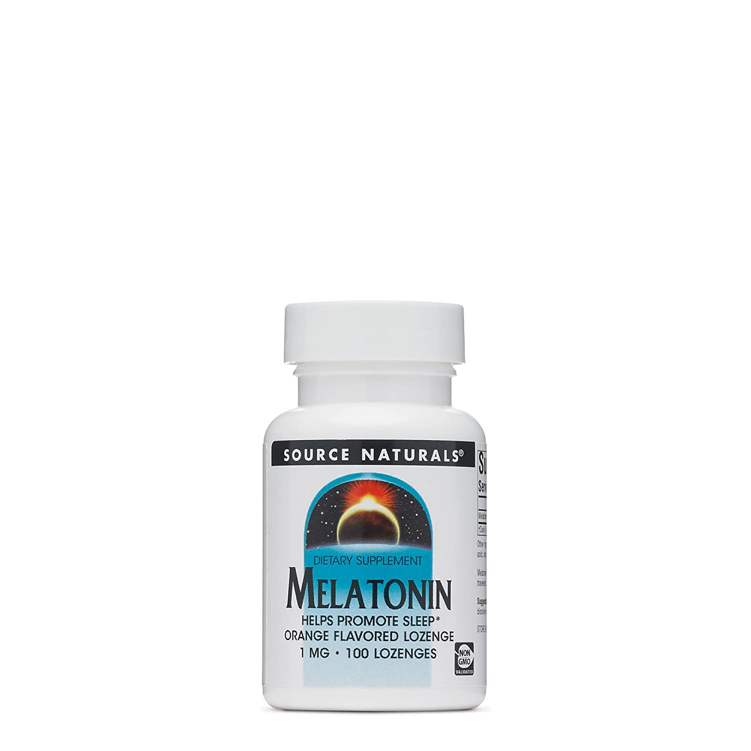 Amazon.com: Source Naturals, Melatonin Sublingual Orange 1Mg, 100 Tablets: Health & Personal Care