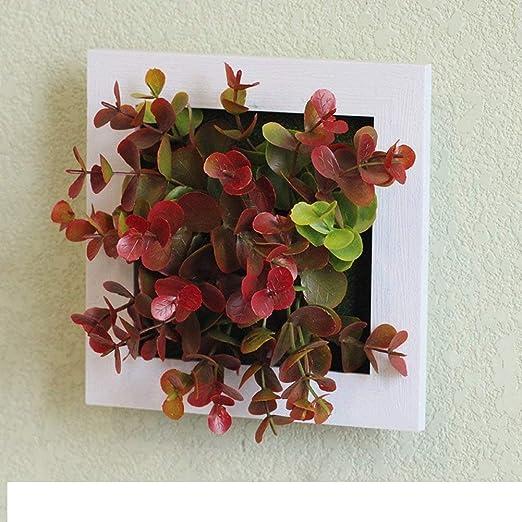 Andre Decoración de Pared Tridimensional Adornos de jardín de Pared simulación de Plantas (Size : A): Amazon.es: Hogar