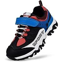 MARSVOVO Boys Girls Sneakers Waterproof Boys Girls Tennis Running Hiking Shoes