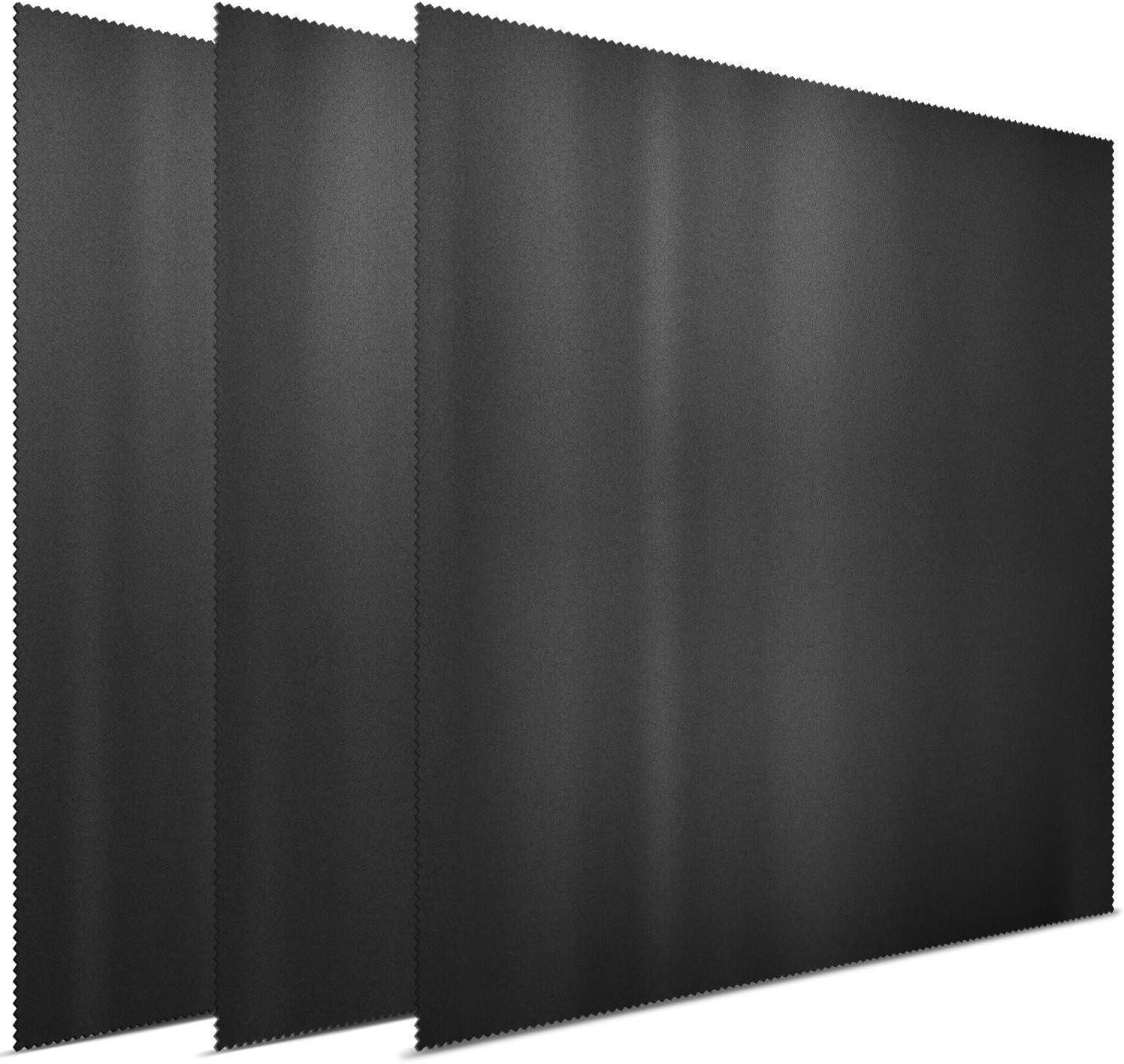 3x Letsswipethat Mikrofasertücher 30x30 Cm Mikrofaser Brillenputztuch Kamera Objektiv Microfaser Reinigungstücher Lcd Led Tv Bildschirm Microfasertuch Reinigung Laptop Pc Display Reiniger Tuch Bürobedarf Schreibwaren