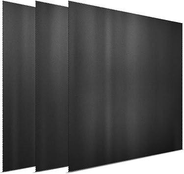 Fernseher Notebooks 3X GRUTTI Mikrofaser-Reinigungst/ücher 11 Zoll f/ür LCD-Bildschirme Brillen Apple iPad Tablets Mobiltelefone Objektive iPhone und andere empfindliche Oberfl/ächen