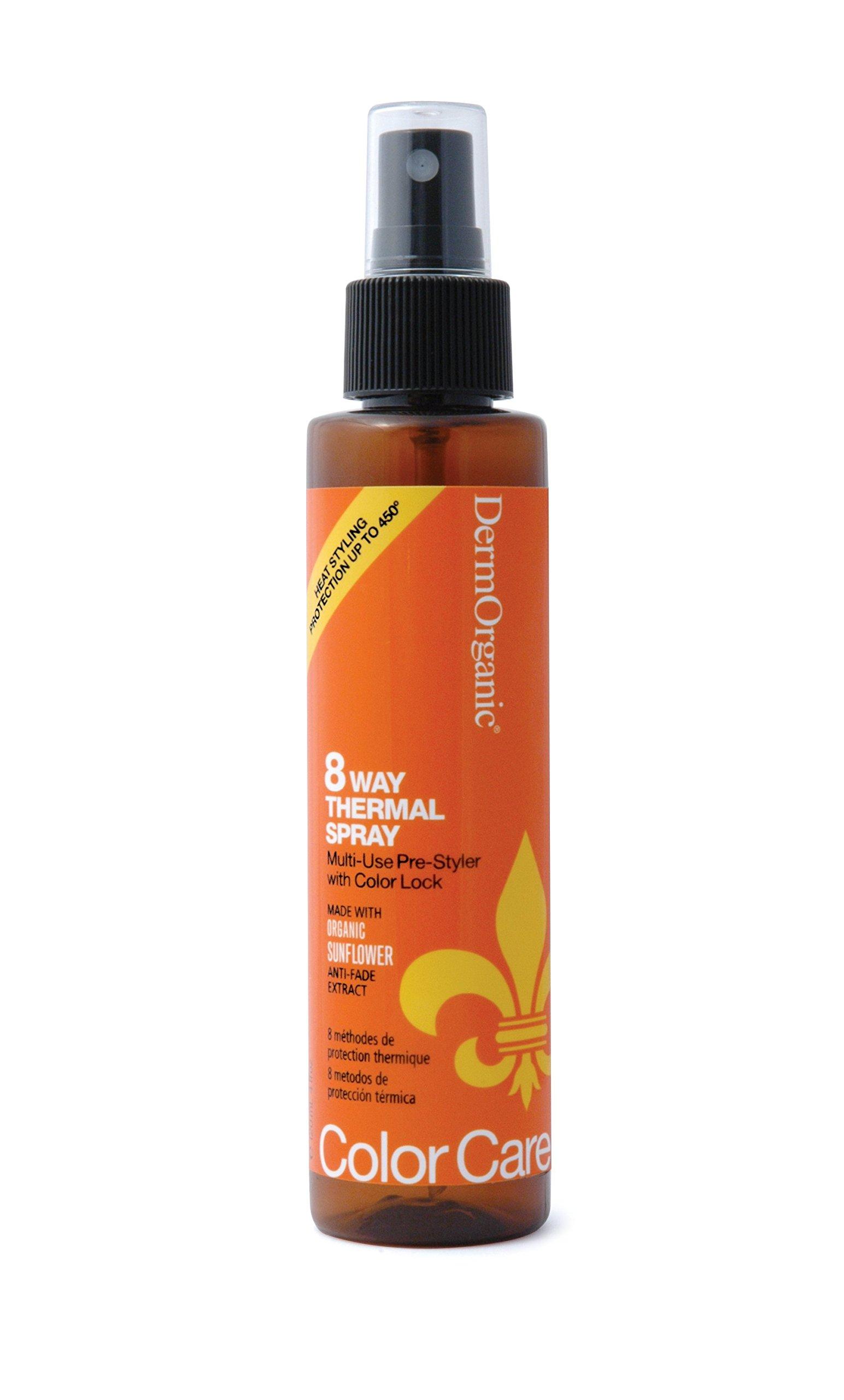DermOrganic Color Care 8 Way Thermal Spray, 4.0 fl.oz