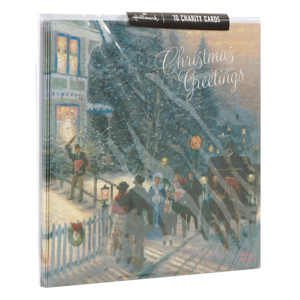Hallmark Traditional Charity Design Boxed Christmas Card (Pack of 10 ...