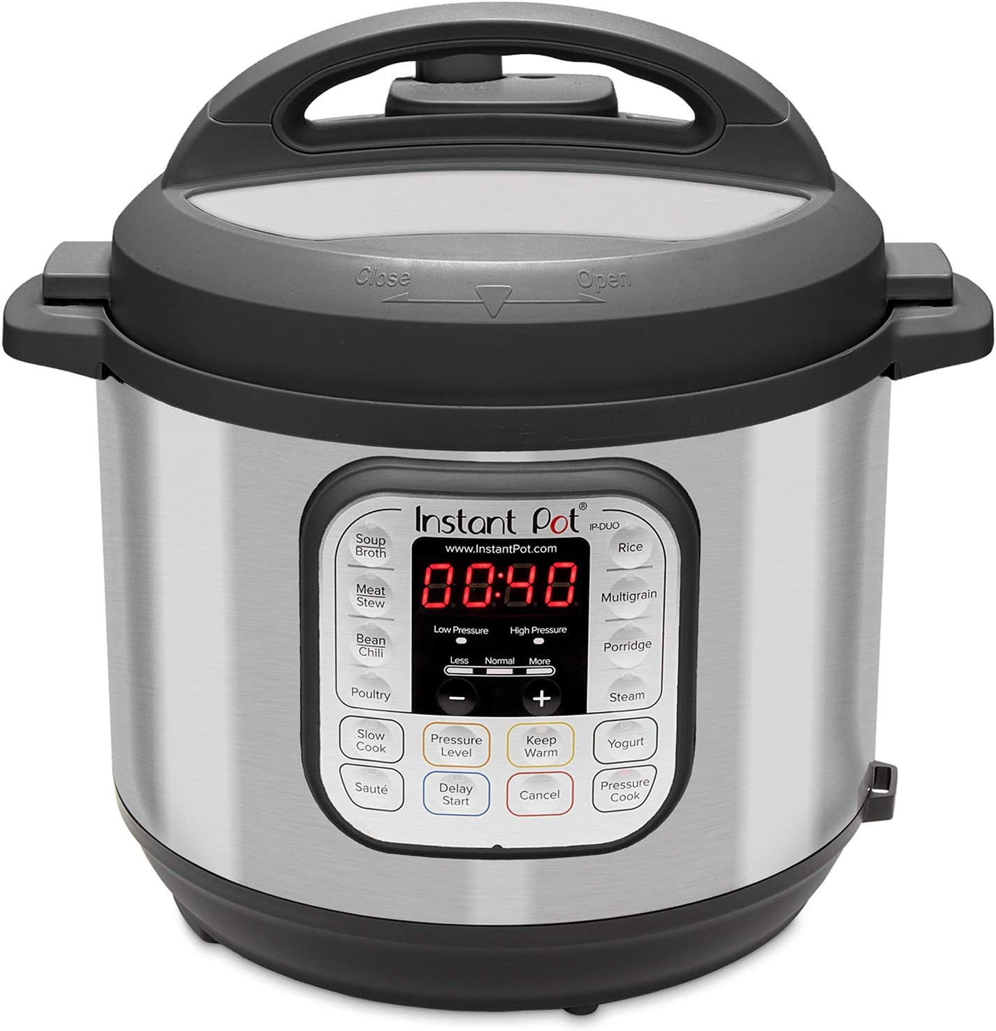 Instant Pot Duo Mini 7-in-1 Electric Pressure Cooker, Slow Cooker, Rice Cooker, Steamer, Saute, Yogurt Maker, and Warmer, 3 Quart, 11 One-Touch Programs